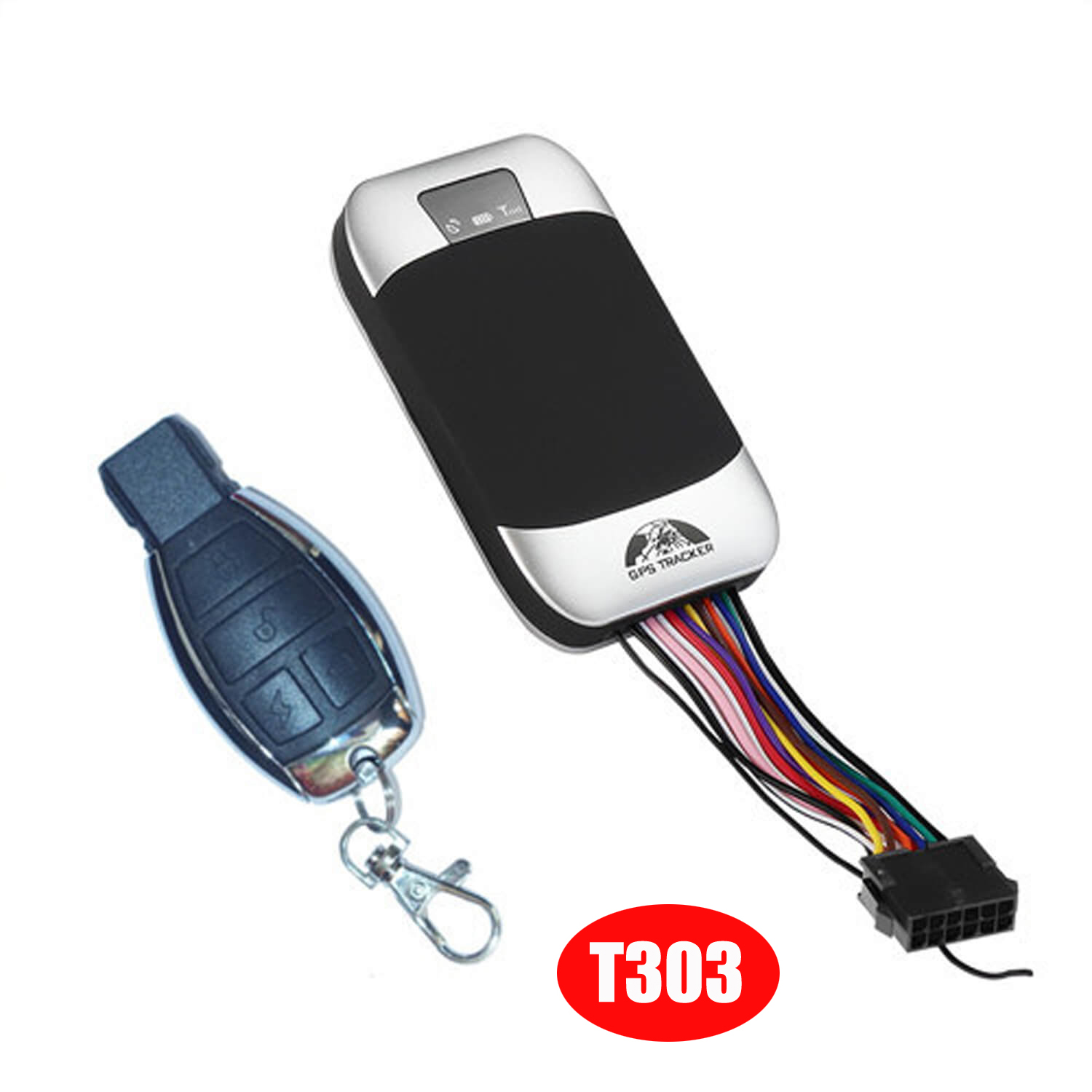 High Quality IP67 waterproof Car Security GPS Tracker with Overspeed Alarm T303