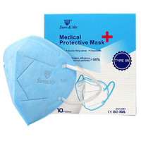 Factory supply 5-Ply Type IIR Medicial Face Mask N95