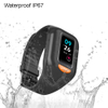 4G IP67 Waterproof Senior GPS Tracker Bracelet with Heart Rate and Blood Pressure Monitor Fall down alert