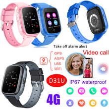 4G Wholesale Waterproof Smart Android Watch Phone with Take off alarm