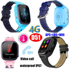 4G Video Call New Lanuched 4G/Lte Thermometer GPS Tracker Watch