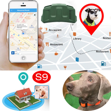 Long Battery Life 4000mAh Hunting Dog GPS Trackers with Collar s9