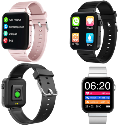 New Smart Bluetooth watch with SOS phone call heart rate blood oxygen