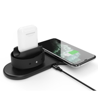 Portable Mini Qi Fast Wireless Charger Pad for iPhone Samsung Mobile Phone Charger WP02