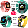 Amazon 2021 Hot Selling Children Smart Watch with 7 Games and Music Play D23