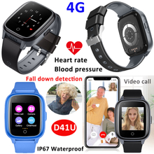 4G LTE New Waterproof Developed Adult Gift Watches GPS Tracker Device with SpO2 Hr Bpm