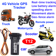 New Develpoed 4G Waterproof Vehicel/Motorcycle GPS Tracking Device with Remote Fuel Pwer off