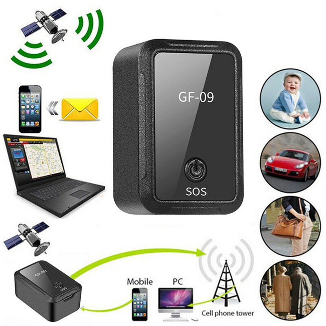 Real Time Tracking Anti-Burglar Alarm Device WiFi+Lbs GPS Kids Tracker