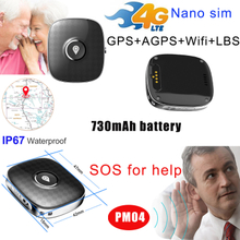 Portable 4G Mini Personal Real Time GPS Tracker