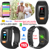 Fall down alert IP67 Waterproof Senior Bracelet GPS Tracker with Heart Rate and Blood Pressure Monitor Y6S