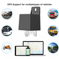 Hidden GPS Tracking Relay Vehicle Tracker With History Playback T201