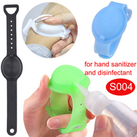 2020 New Silicone Wristband holder Bracelet for Hand Sanitizer