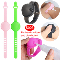 Silicone hand sanitizer wristbands bracelet for kid and adult